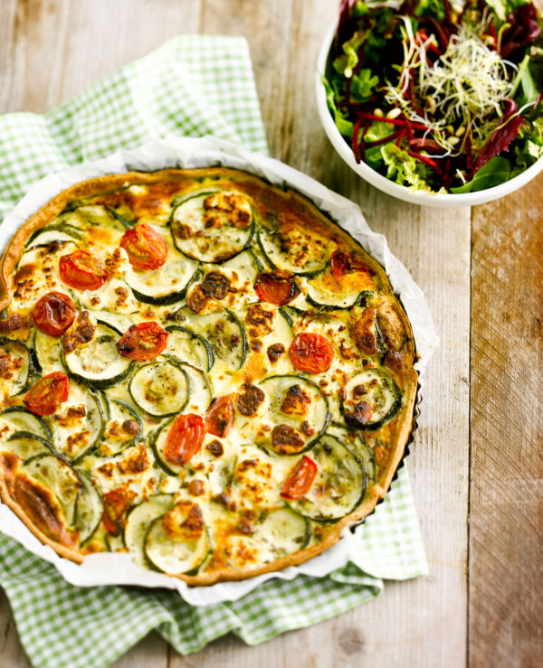 Quiche Courgette Geitenkaas
